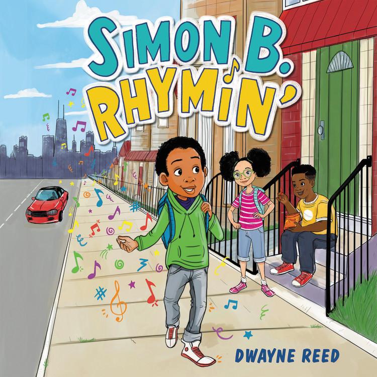 Simon B Rhymin Middle Grade Book Hip Hop