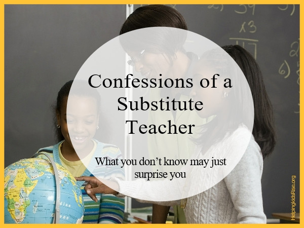 """Substitute Teaching"" Teaching Education"