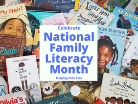 Seven Fun Ways to Celebrate National Family Literacy Month