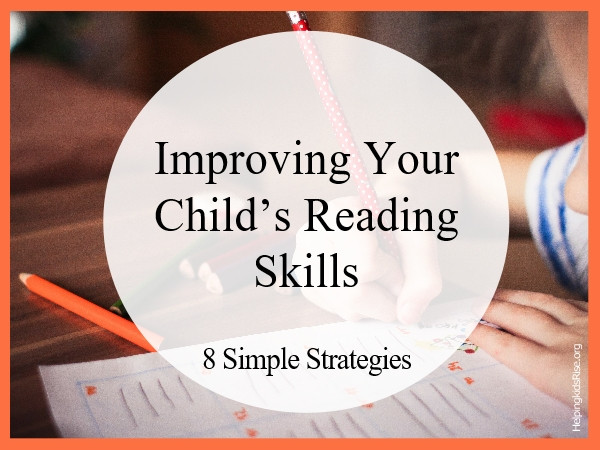 Improving Reading Skills Children