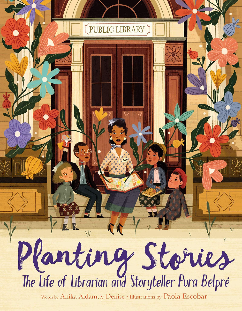 Planting Stories Children's books Pura Belpre