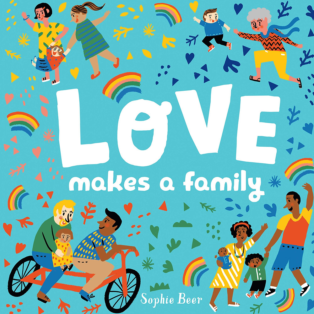 Children's Books Diverse Valentines Day Love Makes a Family