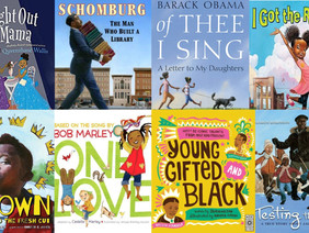 #ReadingBlackout: Children's Books Written by African American Authors