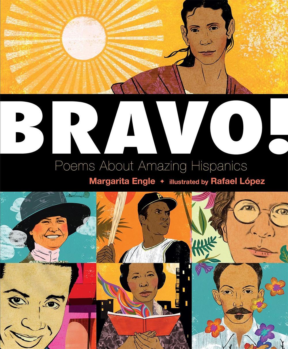 #poetrybooksforkids #poemsabouthispanics #bravo!