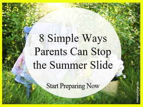 8 Simple Ways to Stop the Summer Slide
