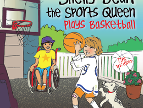 Book Review: Shelly Bean the Sports Queen Plays Basketball