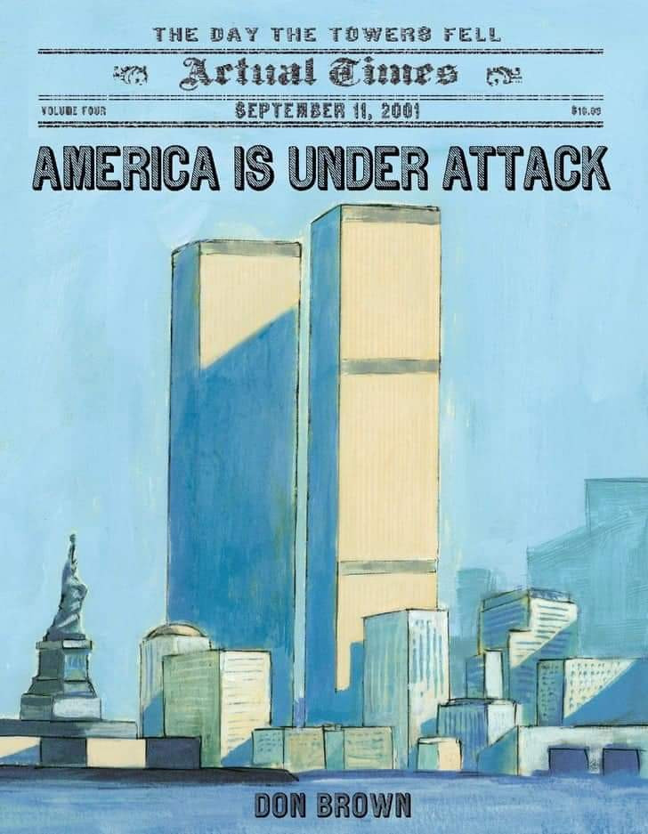 America is under attack Childrens book #kidlit #september11