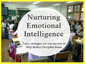 Nurturing Emotional Intelligence Could Lead to Fewer Discipline Issues