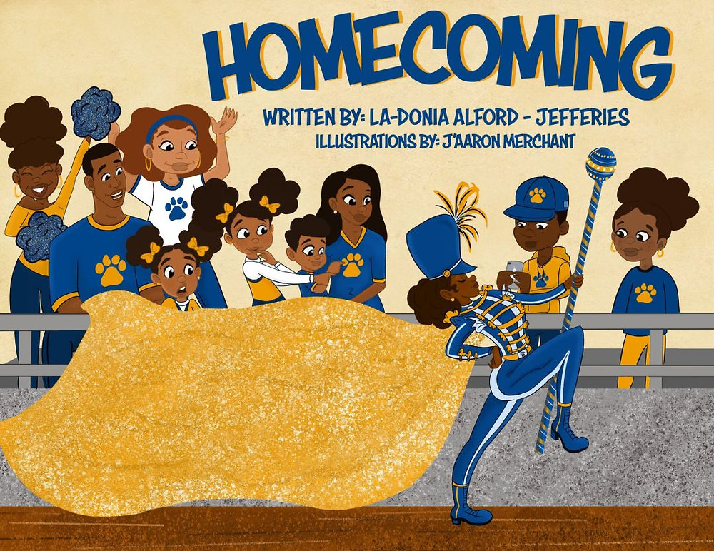 #HBCUHomecoming #HomecomingChildrensBook #HBCU