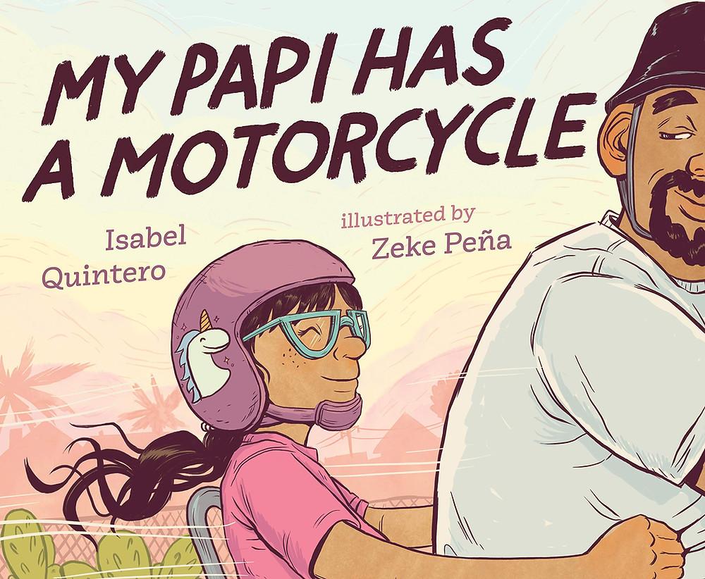Mi Papi has a motorcycle