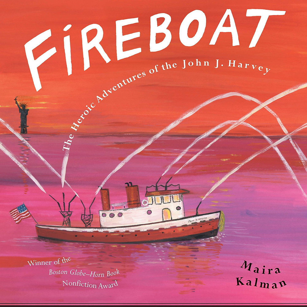 Fireboat #Childrensbook #kidlit #september11