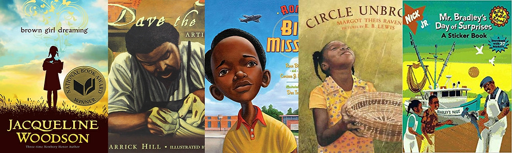 Discover South Carolina African American Children's Books