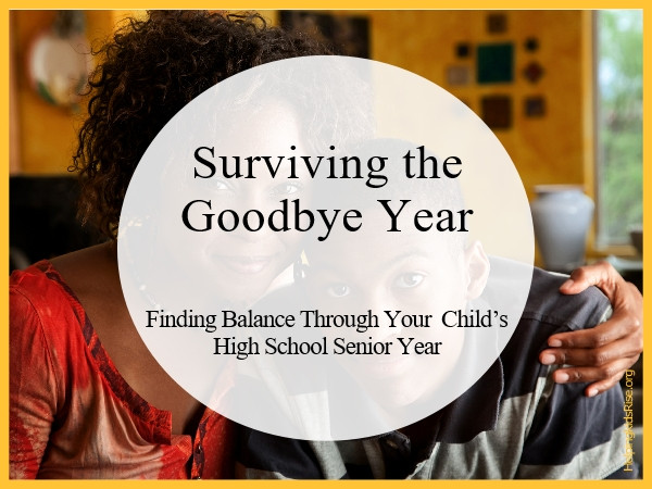 High school Senior Year survival guide for moms
