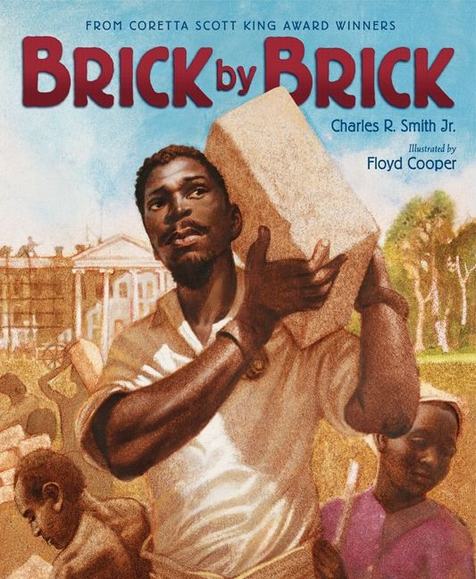Brick by Brick Children's Book Cover