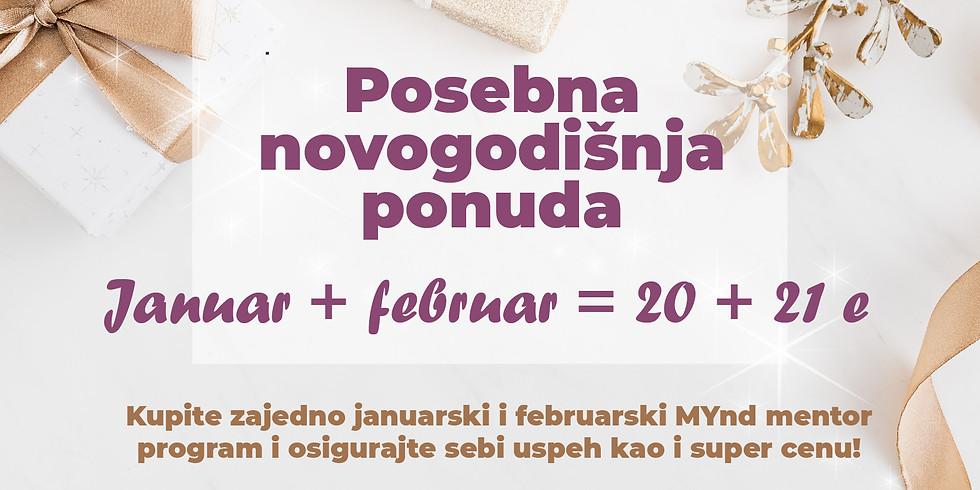 MYnd mentor koučing program novogodišnja ponuda 20 + 21