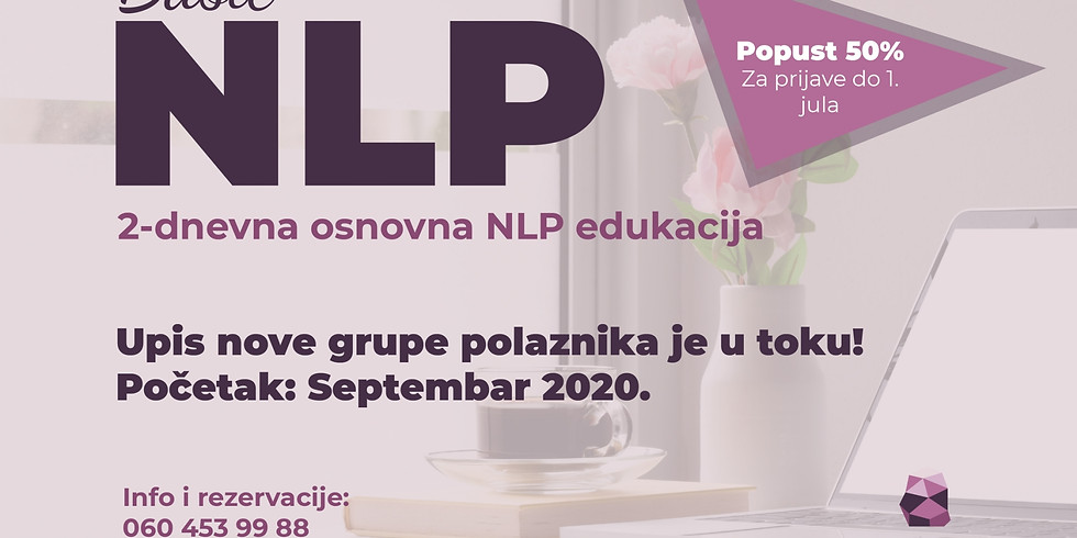 NLP Basic 19. i 20. septembar