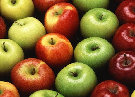 Pommes en conversion Bio