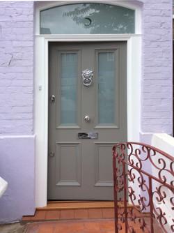Victorian front door south London