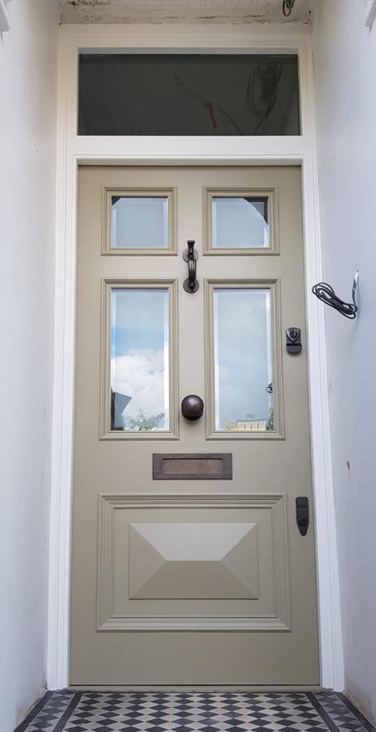 Bespoke Victorian front doors