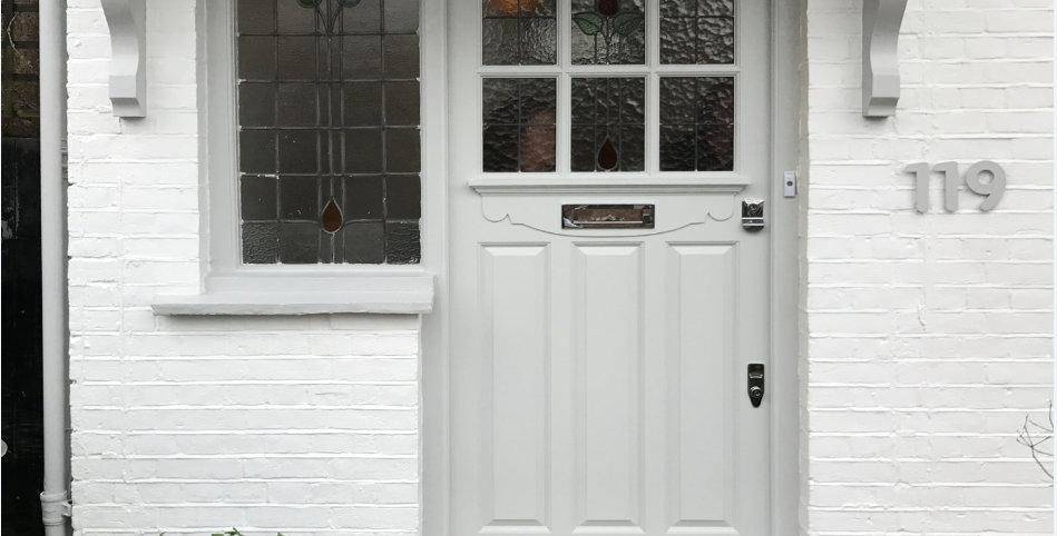 1930s Door with six panels