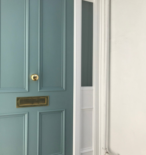 Victorian period front door