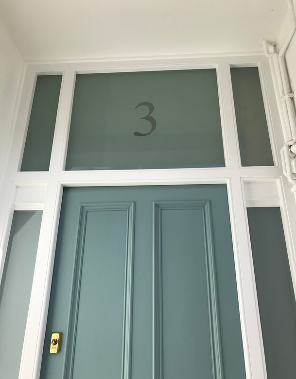 1930's front door
