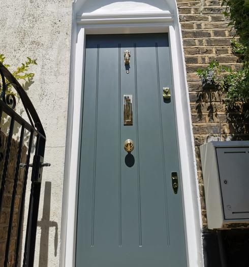 Regency door in London