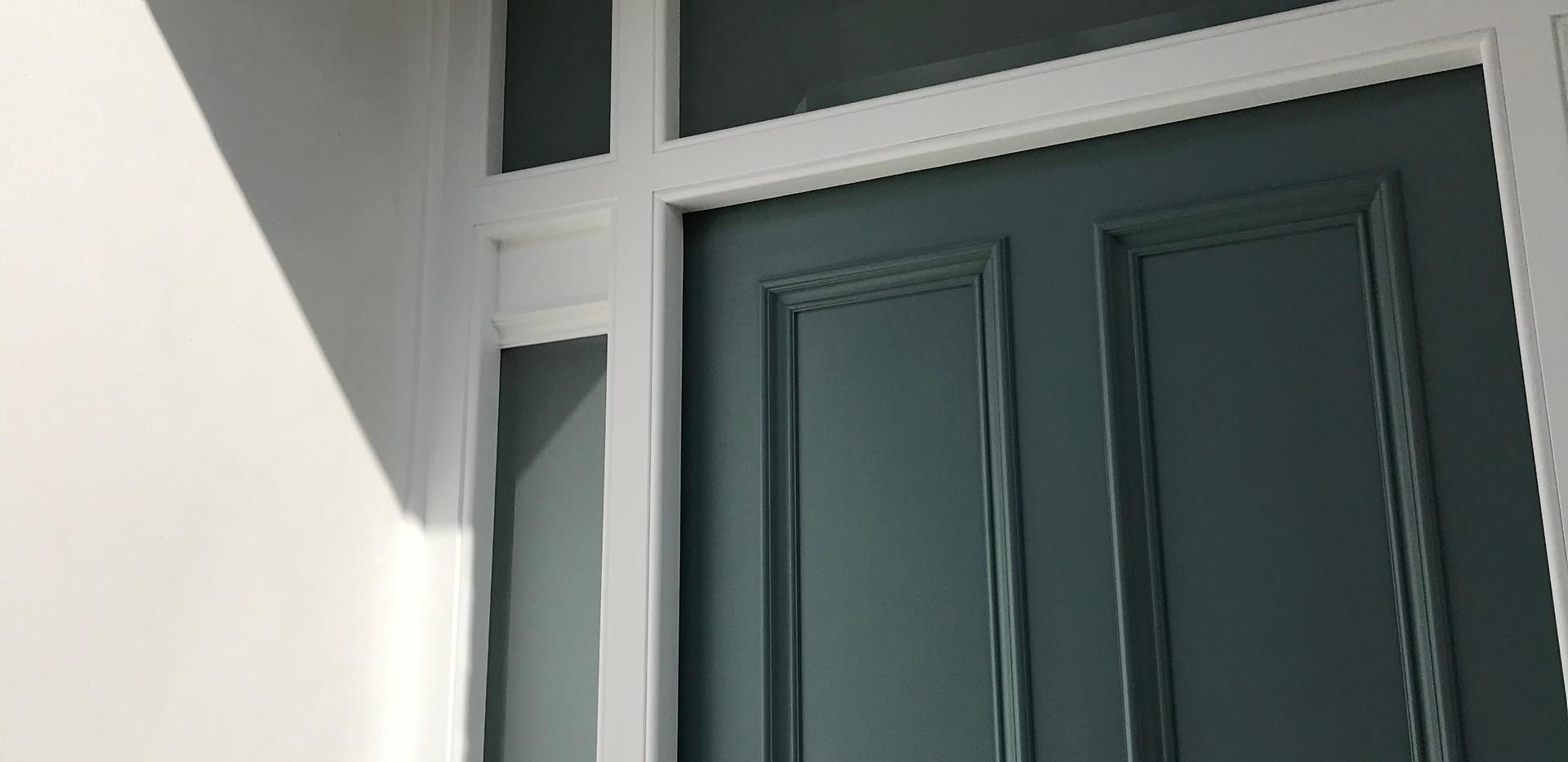 Edwardian period front door