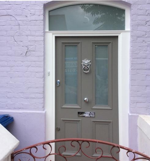 Vicrorian front door