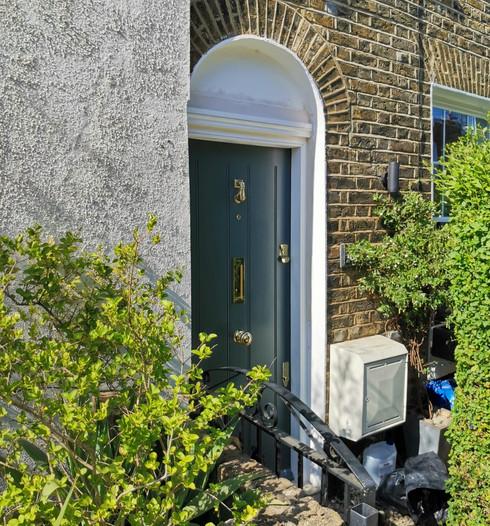 Bespoke Regency front door