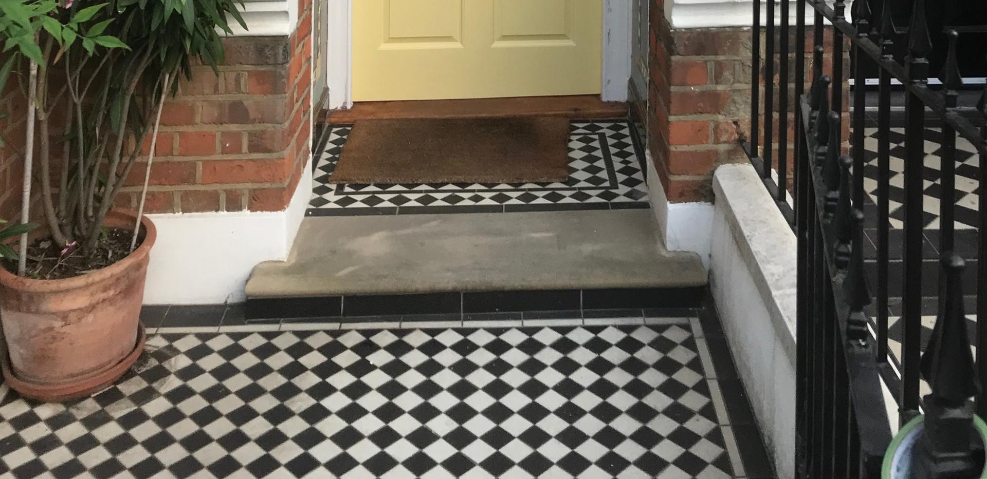 Period front door