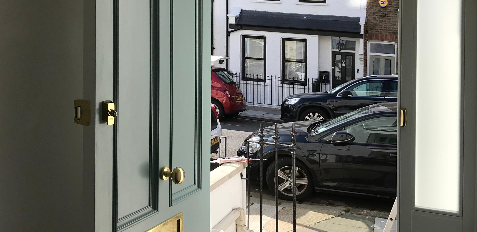 Edwardian bespoke front door