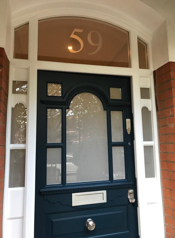 Edwardian front doors