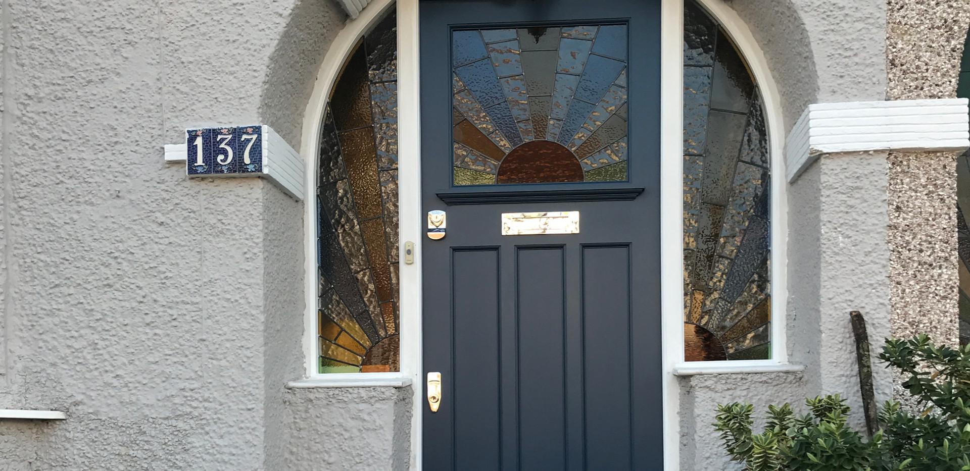 Front door in London