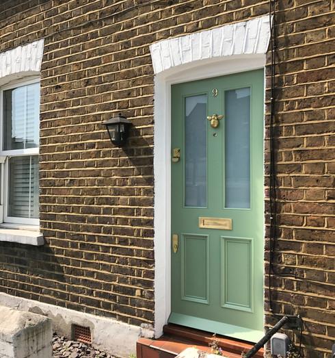 Victorian front door in London
