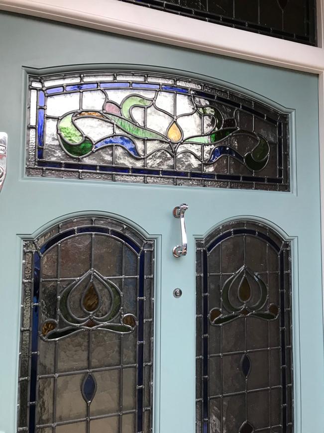 Edwardian front doors in London