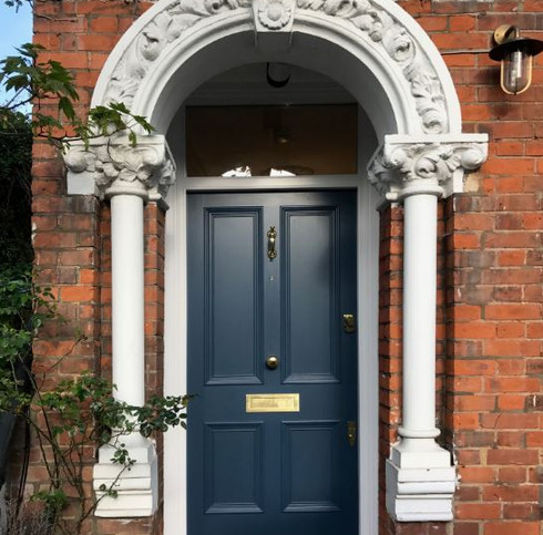 Victorian front door