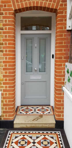 Bespoke Victorian front door