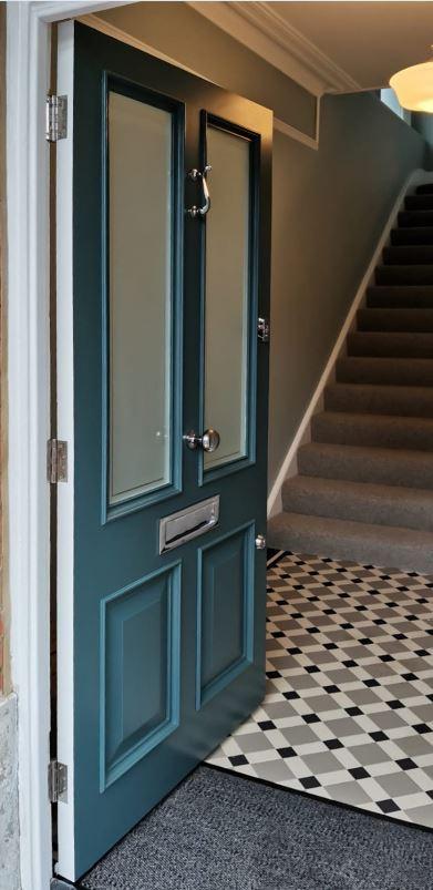 Bespoke Edwardian front door