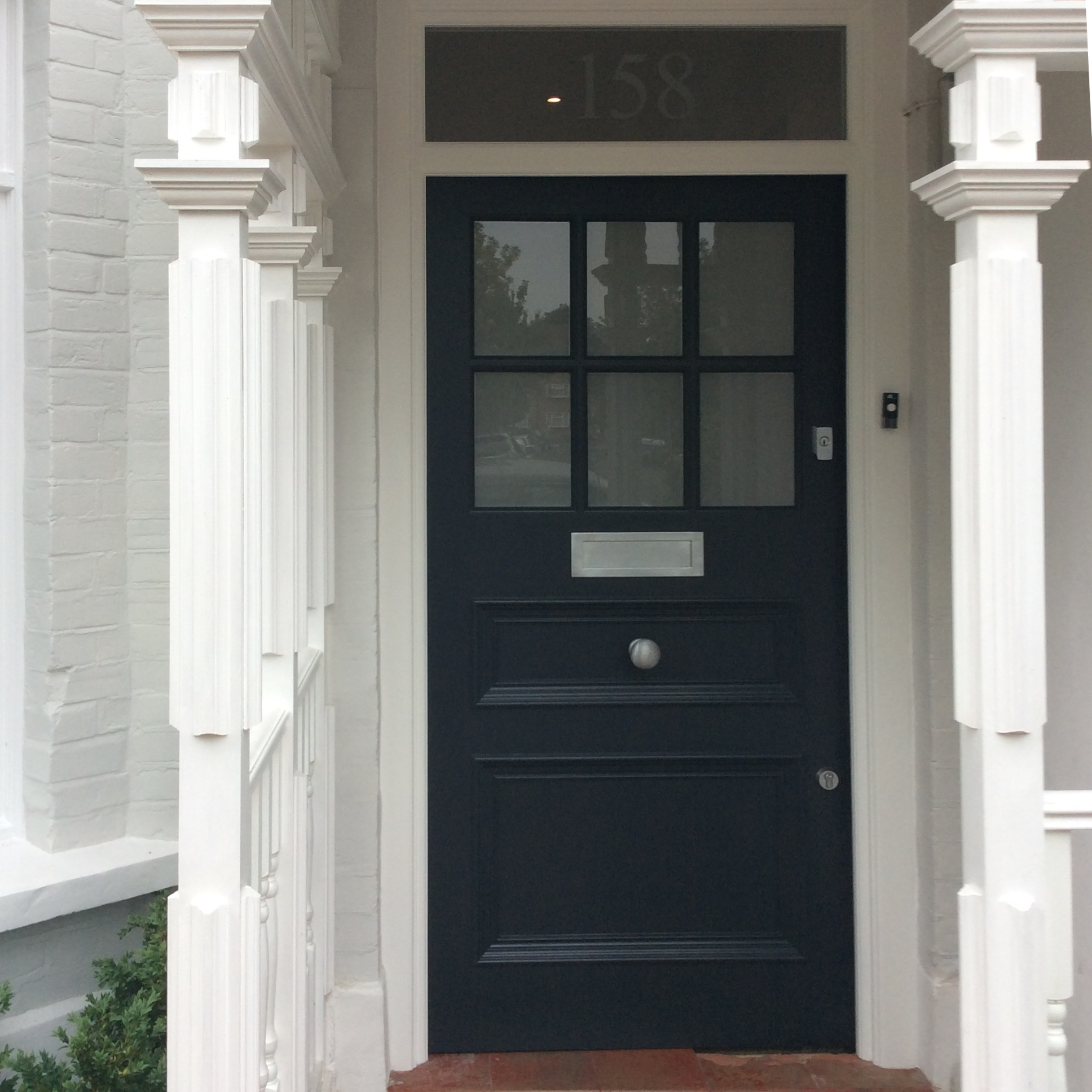 Edwardian front door in South London