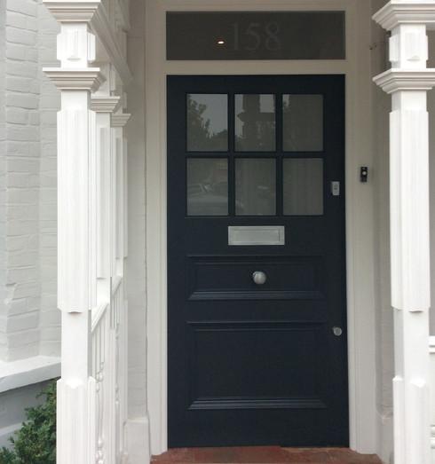 1920's front door in West London