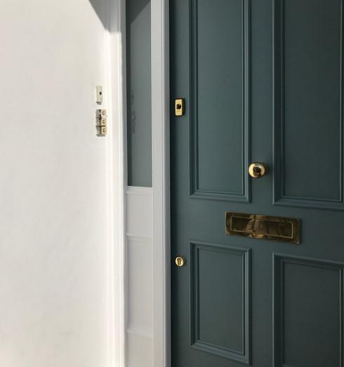 Victorian London door