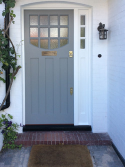 1930s front door in south London