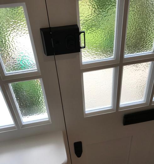 Front door locks