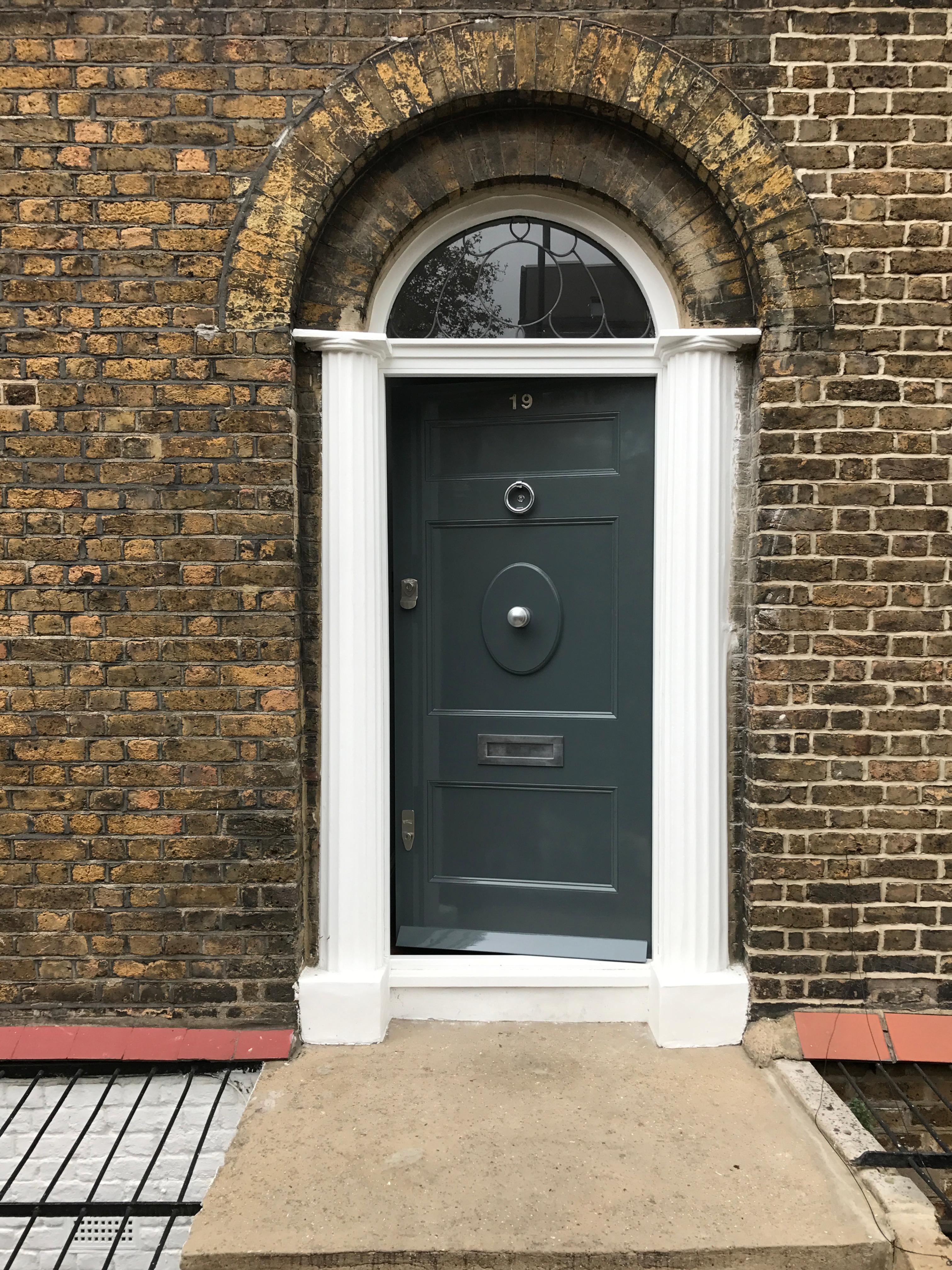 Victorian front doors
