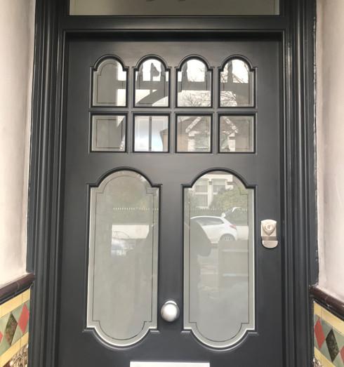 Edwardian front door