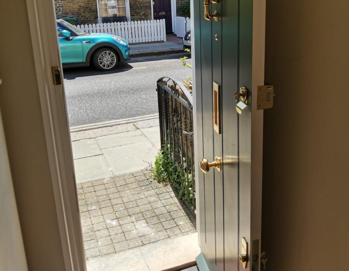 Regency front door.