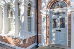 Edwardian front door in London