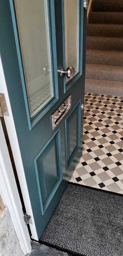 Traditional front doors