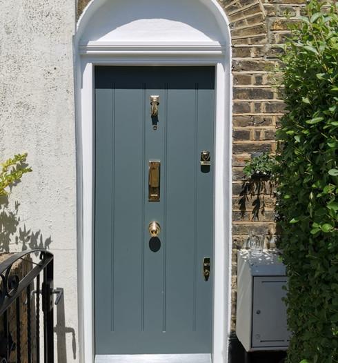 Regency front door